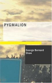 Cover of: Pygmalion | Bernard Shaw
