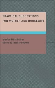 Cover of: Practical Suggestions for Mother and Housewife
