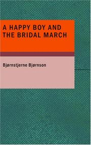 Cover of: A Happy Boy and the Bridal March