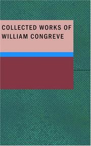 Cover of: Collected Works of William Congreve