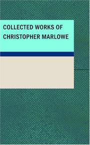 Cover of: Collected Works of Christopher Marlowe | Christopher Marlowe