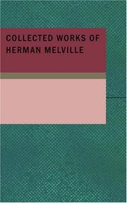 Cover of: Collected Works of Herman Melville