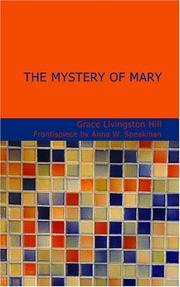 Cover of: The Mystery of Mary