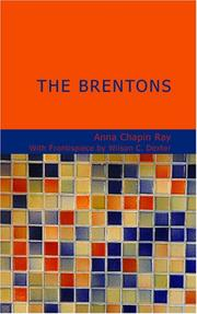 Cover of: The Brentons | Anna Chapin Ray