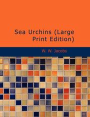 Cover of: Sea urchins