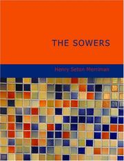 Cover of: The Sowers (Large Print Edition) | Merriman, Henry Seton