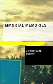 Cover of: Immortal memories