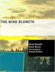 Cover of: The Wind Bloweth (Large Print Edition) | Donn Byrne