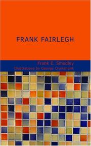 Cover of: Frank Fairlegh | Frank E. Smedley