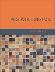 Cover of: Peg Woffington