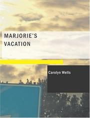 Cover of: Marjorie
