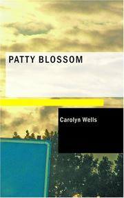 Cover of: Patty Blossom