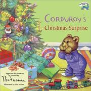 Cover of: Corduroy's Christmas Surprise