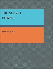 Cover of: The Secret Power (Large Print Edition) | Marie Corelli