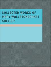 Cover of: Collected Works of Mary Wollstonecraft Shelley