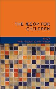 Cover of: The Æsop for Children
