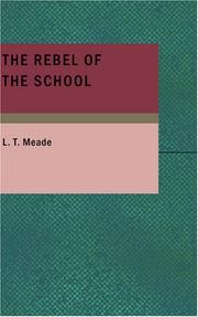 Cover of: The Rebel of the School
