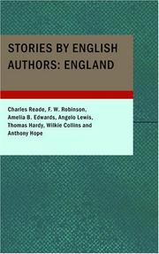 Cover of: Stories by English Authors