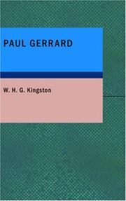 Cover of: Paul Gerrard