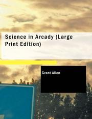 Cover of: Science in Arcady