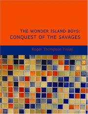Cover of: The Wonder Island Boys | Roger Thompson Finlay