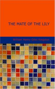 Cover of: The Mate of the Lily