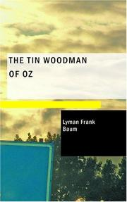Cover of: The Tin Woodman of Oz