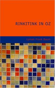 Cover of: Rinkitink in Oz