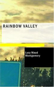 Cover of: Rainbow Valley by L. M. Montgomery