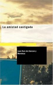 Cover of: La amistad castigada
