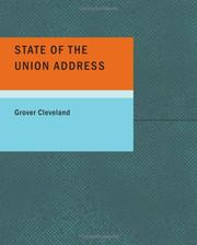 Cover of: State of the Union Address (Cleveland)