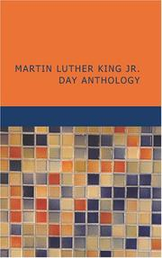 Cover of: Martin Luther King Jr. Day Anthology