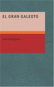 Cover of: El Gran Galeoto