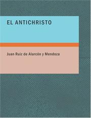 Cover of: El Antichristo