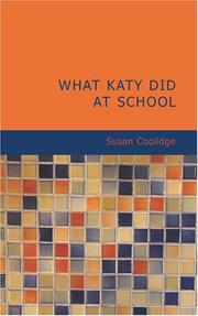 Cover of: What Katy did at school