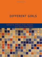 Cover of: Different Girls