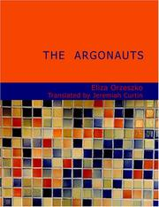 Cover of: The Argonauts (Large Print Edition) | Eliza Orzeszkowa
