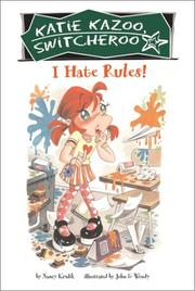 Cover of: I hate rules!