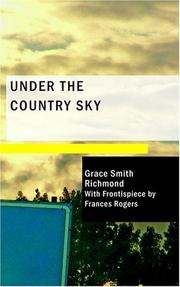 Cover of: Under the Country Sky