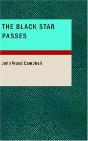 Cover of: The Black Star Passes