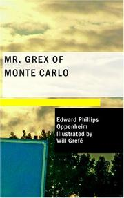 Cover of: Mr. Grex of Monte Carlo