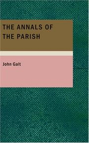 Cover of: The Annals of the Parish