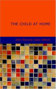 Cover of: The Child at Home