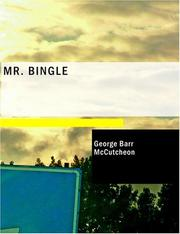 Cover of: Mr. Bingle (Large Print Edition) | McCutcheon, George Barr