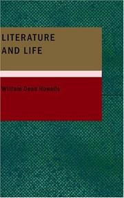 Cover of: Literature and life: studies