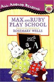 Cover of: Max and Ruby Play School (Max and Ruby) |