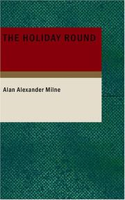 Cover of: The Holiday Round