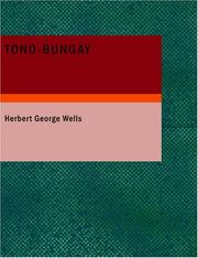Cover of: Tono-Bungay (Large Print Edition) | H. G. Wells