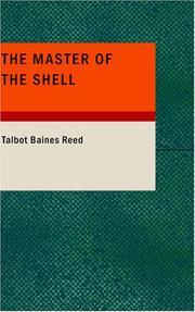Cover of: The Master of the Shell