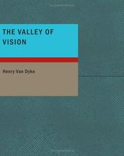 Cover of: The Valley of Vision